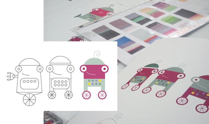 Primeros bocetos para robotito
